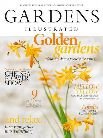 Gardens Illustrated magazine cover