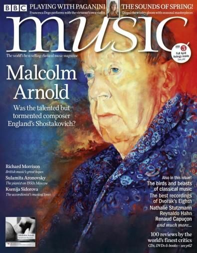 BBC Music magazine cover