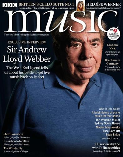 BBC Music magazine cover