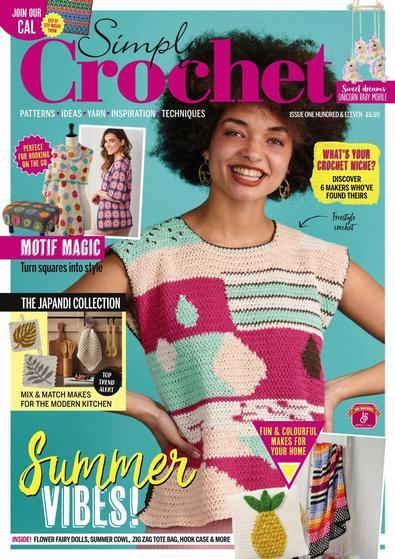 Simply Crochet magazine cover