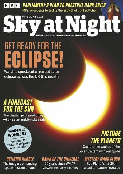 BBC Sky at Night magazine cover
