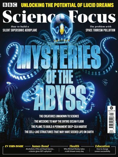 BBC Science Focus magazine cover