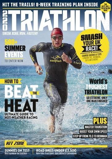 220 Triathlon magazine cover