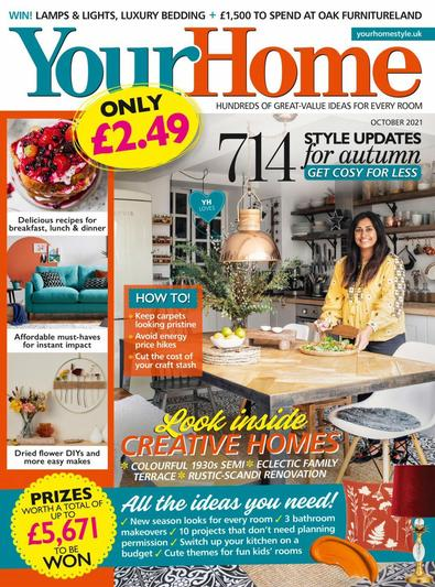 Your Home magazine cover