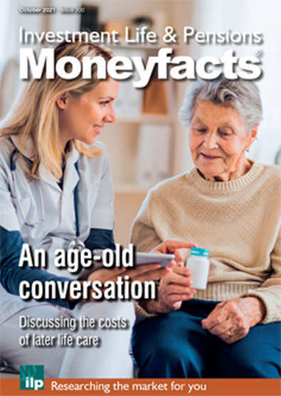 Investment, Life & Pensions Moneyfacts magazine cover