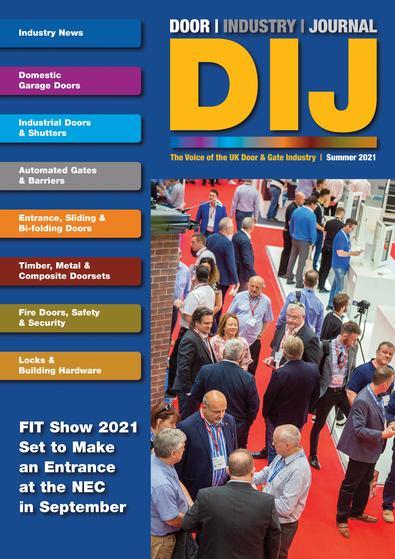 The Door Industry Journal magazine cover