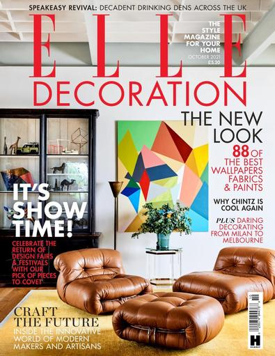 Elle Decoration digital cover