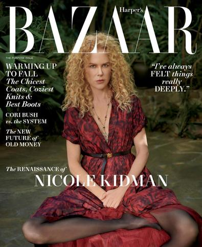 Harper's Bazaar USA digital cover
