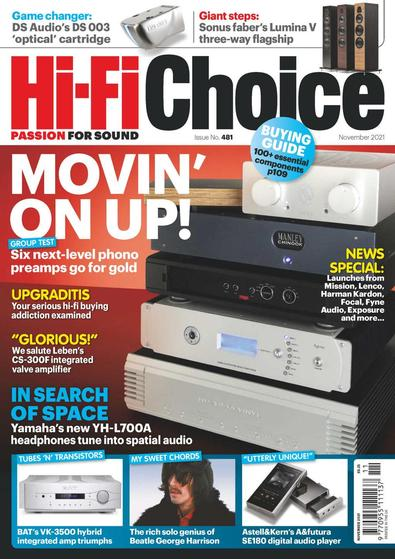 Hi-Fi Choice digital cover