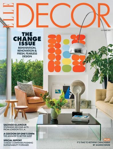 ELLE DECOR digital cover