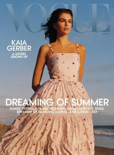 Vogue USA digital cover