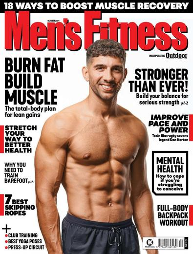 Men's Fitness digital cover