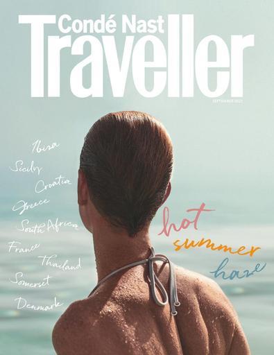 Conde Nast Traveller digital cover