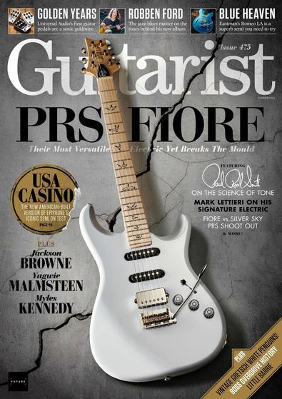 Guitarist digital cover