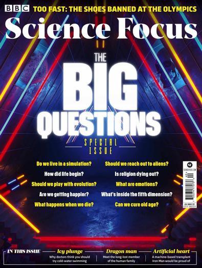 BBC Science Focus digital cover