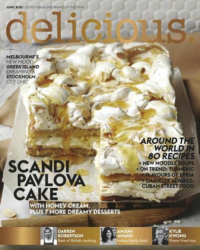 delicious AU digital cover