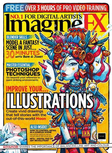 ImagineFX digital cover