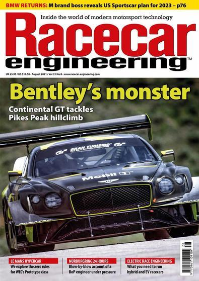 Racecar Engineering digital cover