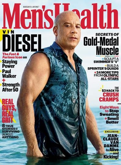 Men's Health US digital cover