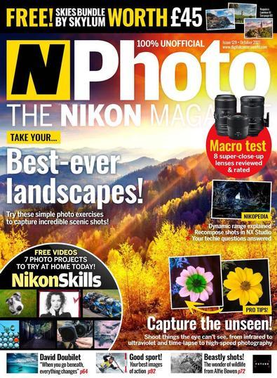 N-Photo: the Nikon magazine digital cover