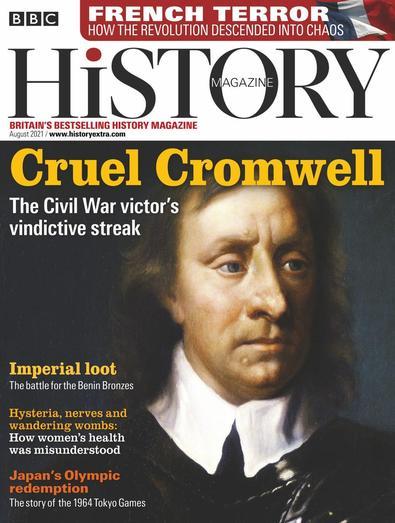 BBC History digital cover