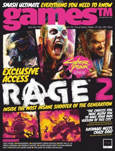 GamesTM digital cover