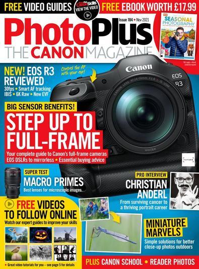 PhotoPlus : The Canon Magazine digital cover