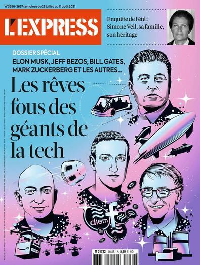 L'Express digital cover