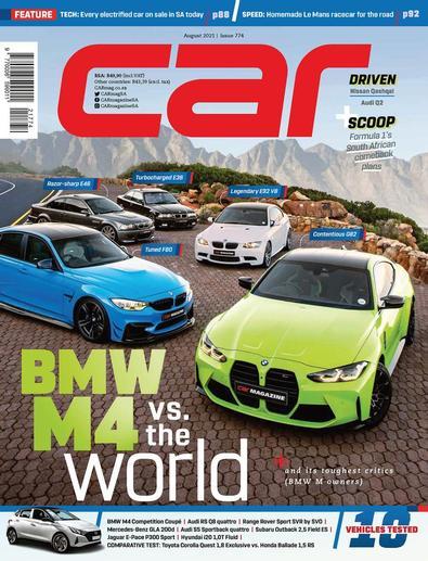 CAR South Africa digital cover