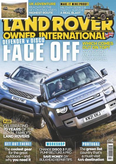 Land Rover Owner International digital cover