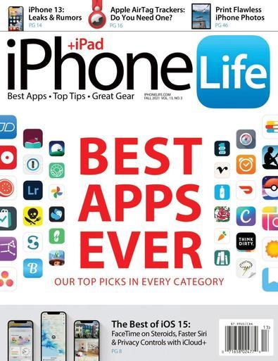 iPhone Life Magazine digital cover