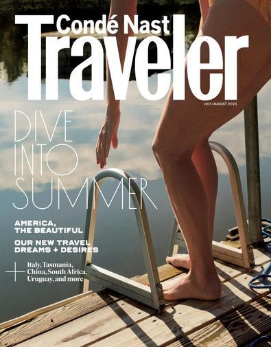 Conde Nast Traveler USA digital cover