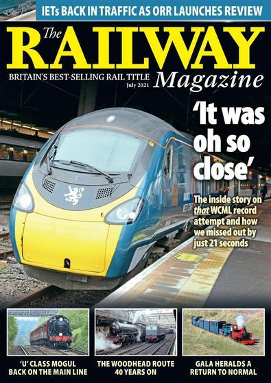 The Railway Magazine digital cover
