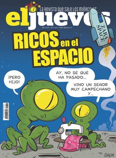El Jueves digital cover