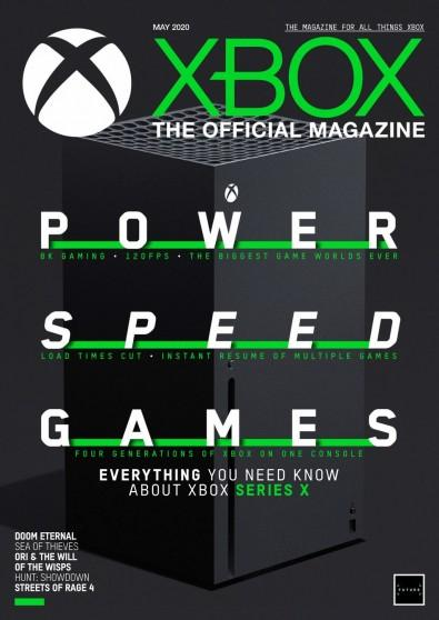 Xbox: The Official Magazine digital cover