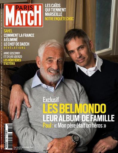 Paris Match digital cover