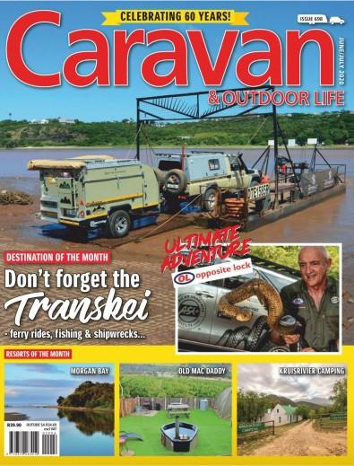 Caravan and Outdoor Life digital cover