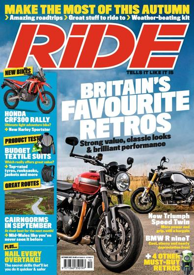 Ride digital cover