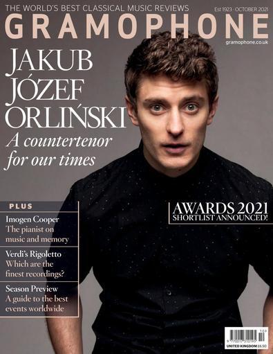 Gramophone Magazine digital cover
