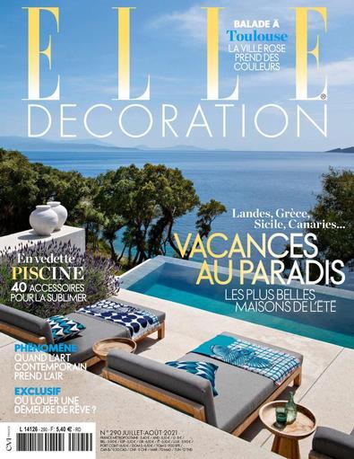 ELLE Décoration France digital cover