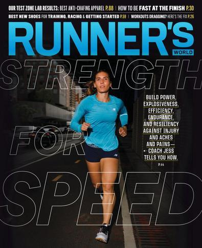 Runner's World USA digital cover