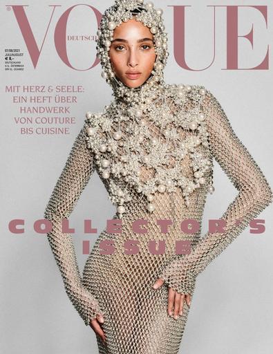 Vogue Magazin Deutschland digital cover