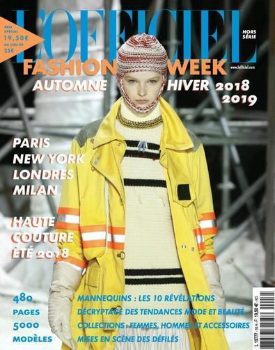 Fashion Week digital cover