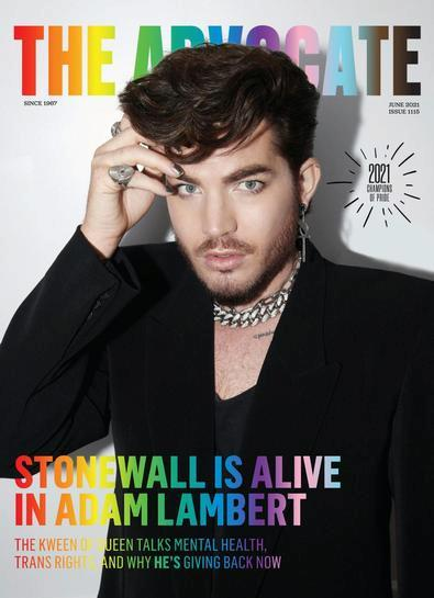 The Advocate digital cover