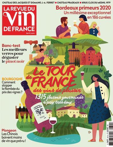 La Revue du Vin de France digital cover