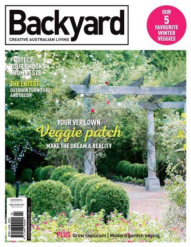 Backyard digital cover