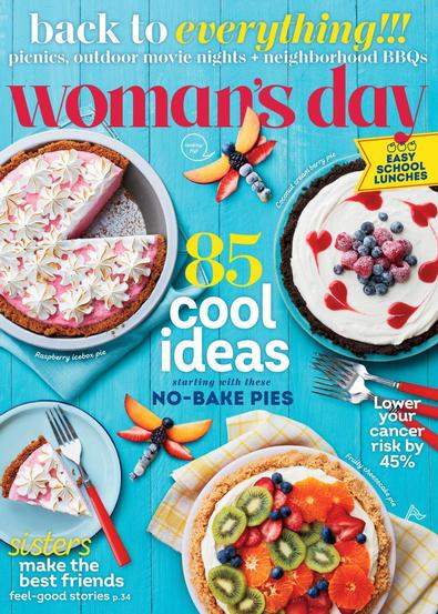 Woman's Day digital cover