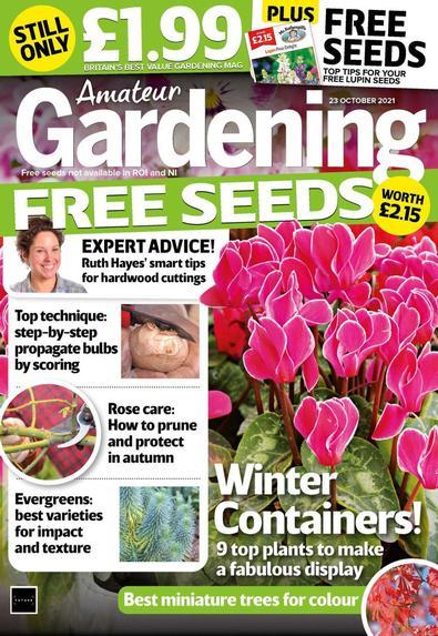 Amateur Gardening digital cover
