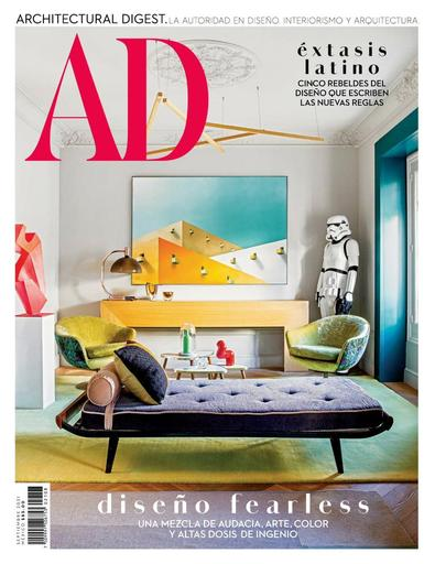 Architectural Digest Mexico digital cover