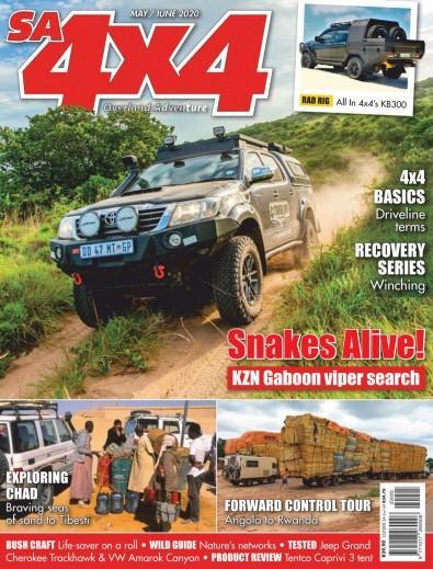 SA4x4 digital cover